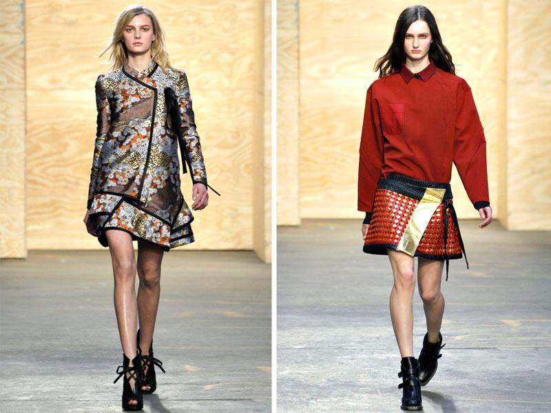 Proenza Schouler Fall 2012 | New York Fashion Week