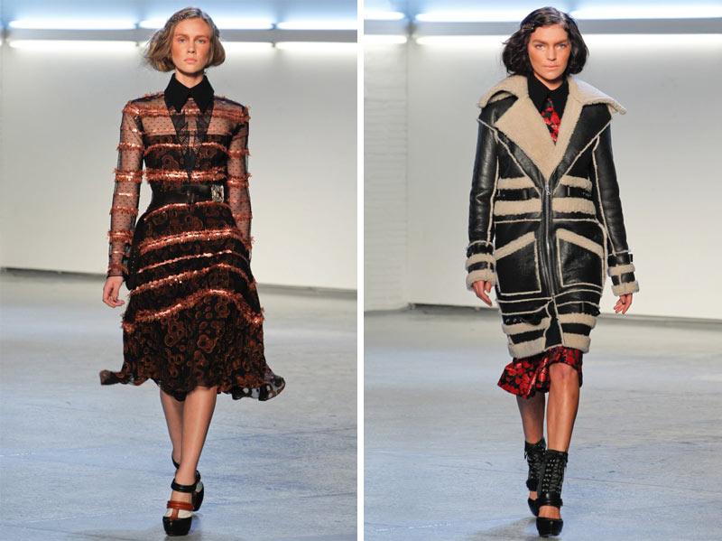 Rodarte Fall 2012 | New York Fashion Week
