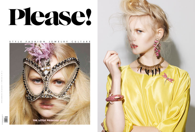 Anne Sophie Monrad by Nagi Sakai for Please S/S 2012