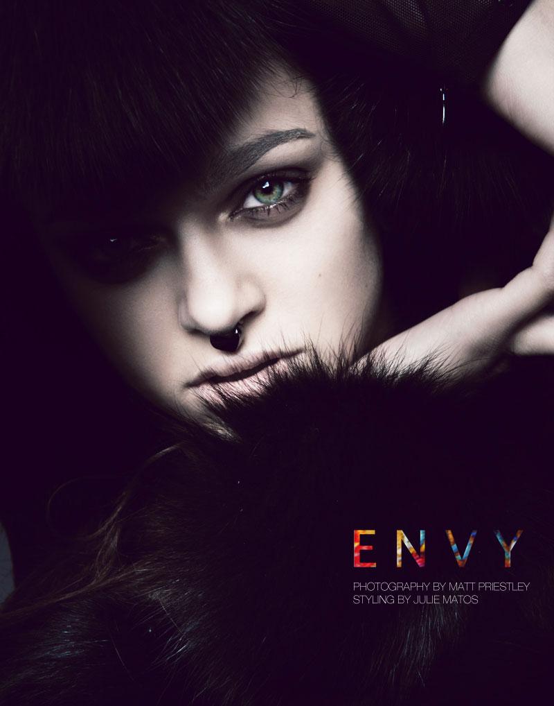 Zhenya Katava by Matthew Priestley for Fashion Gone Rogue