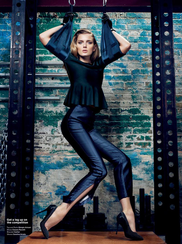 Lily Donaldson by Sharif Hamza for V Magazine #76