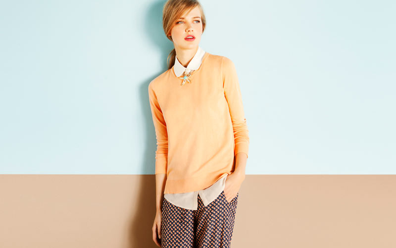 Anabel Van Toledo for Massimo Dutti March 2012 Lookbook