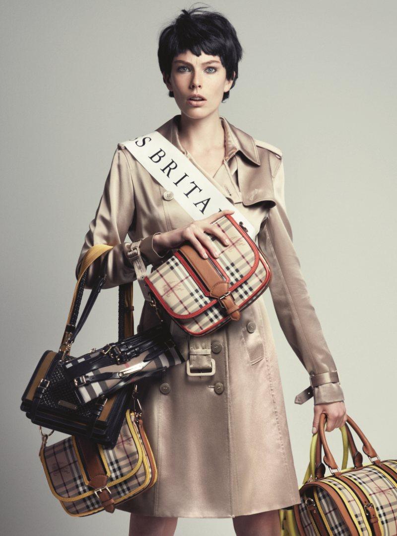 Madelene de la Motte by Marcus Ohlsson for NK Spring 2012