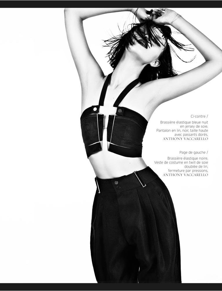 Ranya Mordanova by Naomi Yang for French Revue de Modes #20