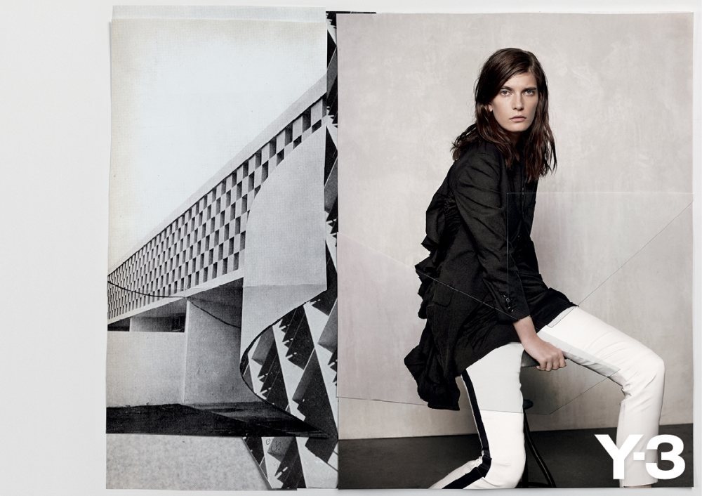 Valerija Kelava for Y-3 Spring 2012 Campaign by Collier Schorr