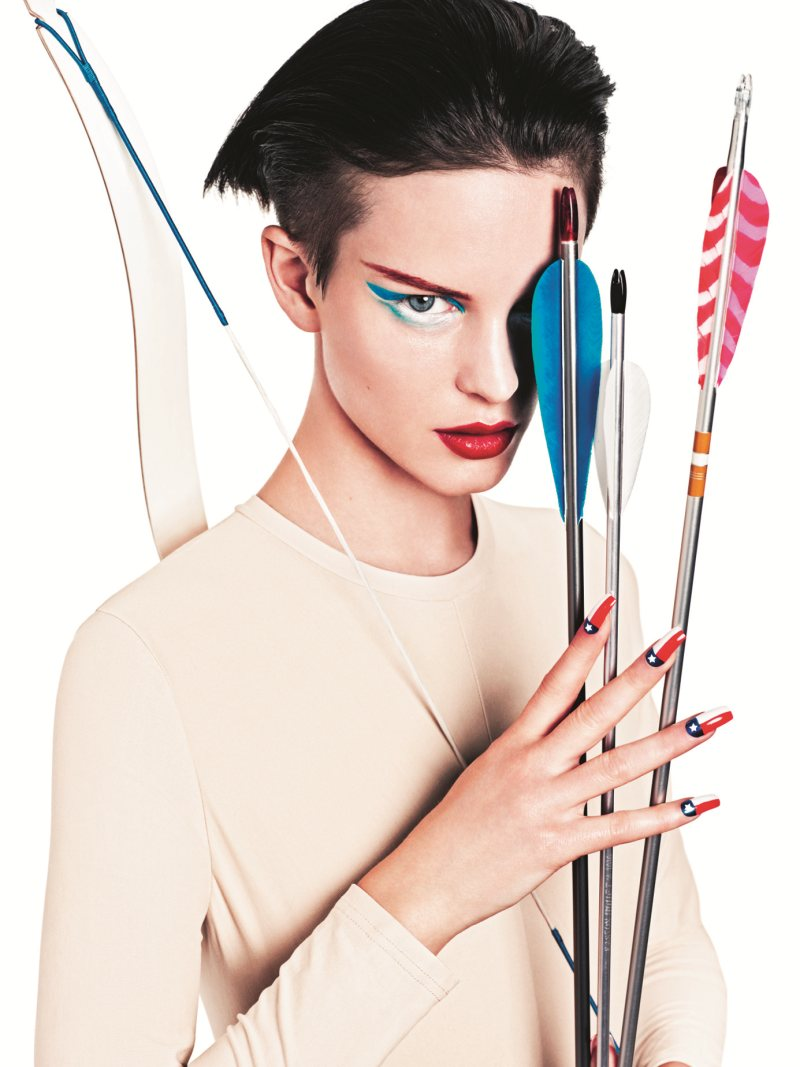 """Ellinore Erichsen, Asa Engstrom & Tenzin for NK """"The Beauty Games"""" Campaign by Andreas Sjodin"""