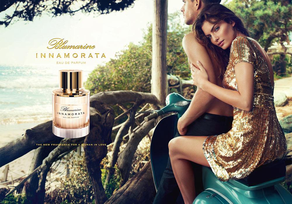 """Alyssa Miller for Blumarine """"Innamorata"""" Fragrance Campaign by Michelangelo di Battista"""