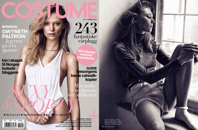 Johanna Jonsson by Mikael Schulz for Costume Norway April 2012