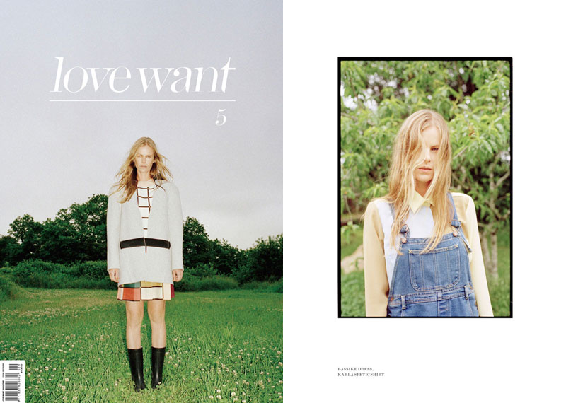Emma Balfour by Bec Parsons & Bartolomeo Celestino for LoveWant Magazine #5