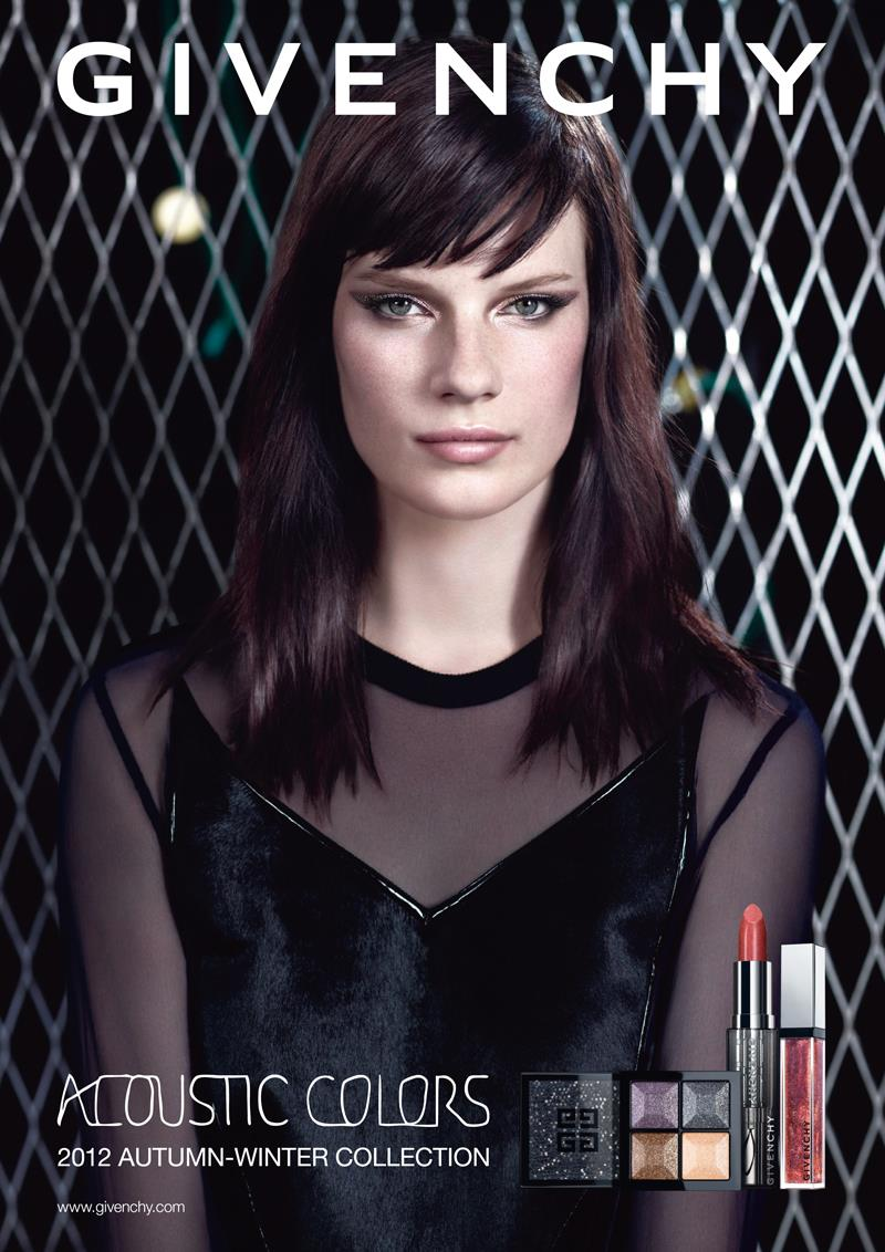 """Querelle Jansen for Givenchy """"Acoustic Colors"""" Campaign by Willy Vanderperre"""