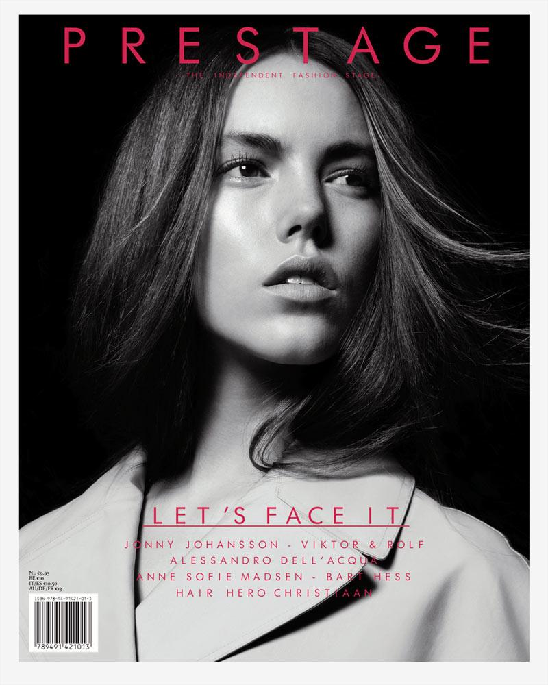 Prestage Magazine #4 Cover | Josefien Rodermans by Jasper Abels