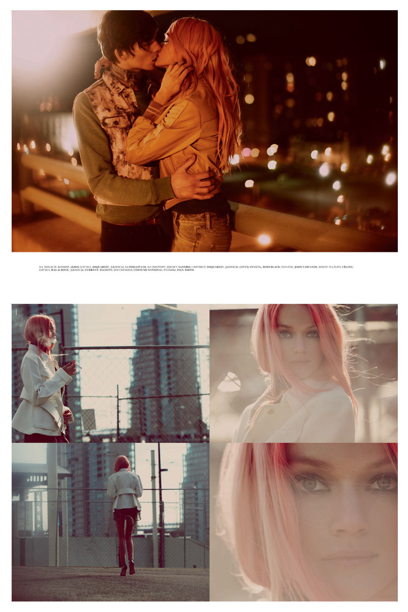 Lindsay Ellingson by Guy Aroch for Interview Russia May 2012