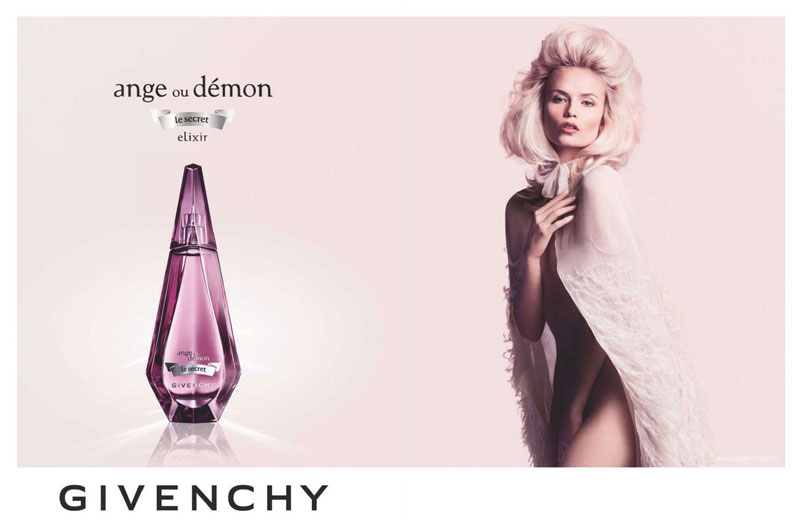 "Natasha Poly for Givenchy ""Ange o Démon"" Fragrance Campaign"