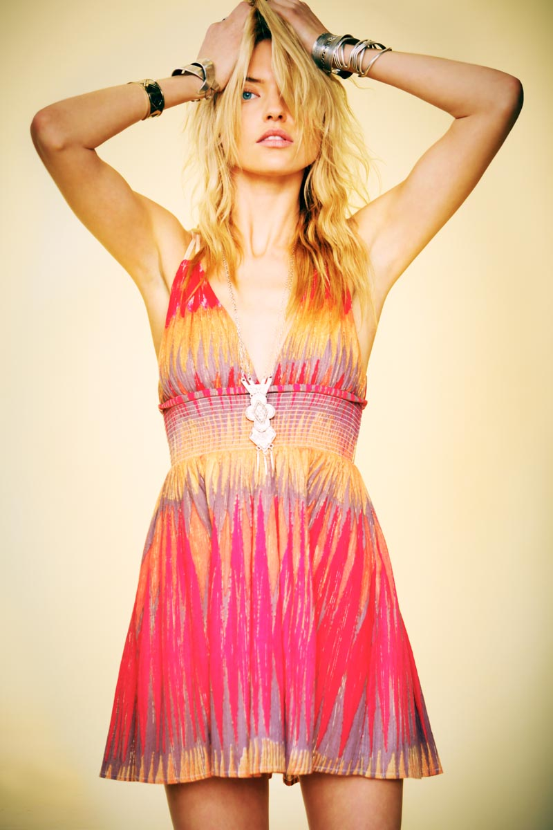 "Martha Hunt for Free People ""Here Comes the Sun"" Lookbook by Anthony Nocella"