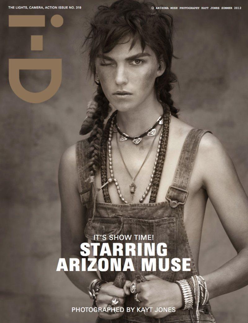 Raf Simons, Arizona Muse & Julia Restoin Roitfeld Cover i-D Summer 2012