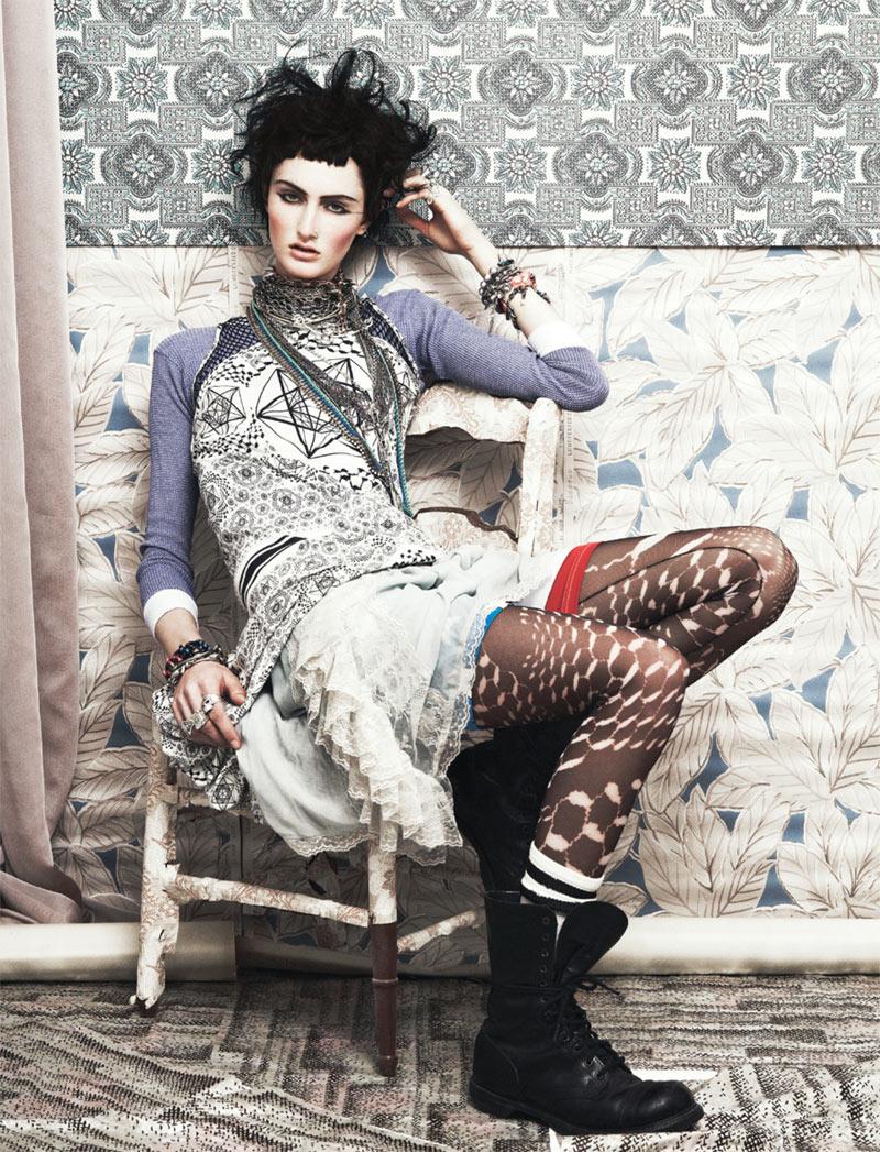 Mackenzie Drazan by Bjarne Jonasson for Velour #5