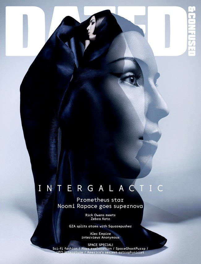 Dazed & Confused June 2012 Cover | Noomi Rapace by Sølve Sundsbø