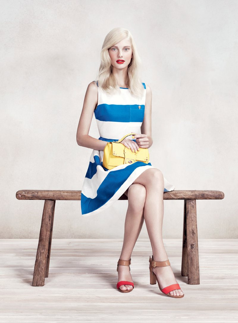 Patricia van der Vliet for MAX&Co. Spring 2012 Campaign by Willy Vanderperre