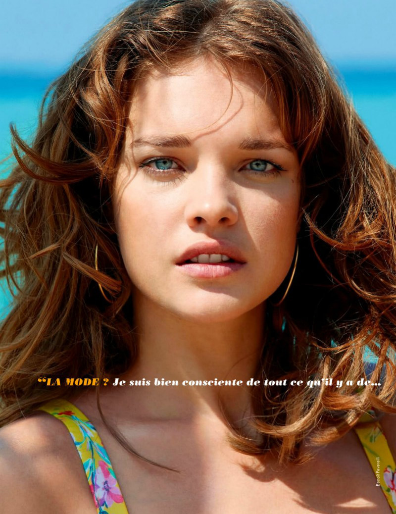 Natalia Vodianova Wears Summer Looks in Elle France's June Cover Shoot