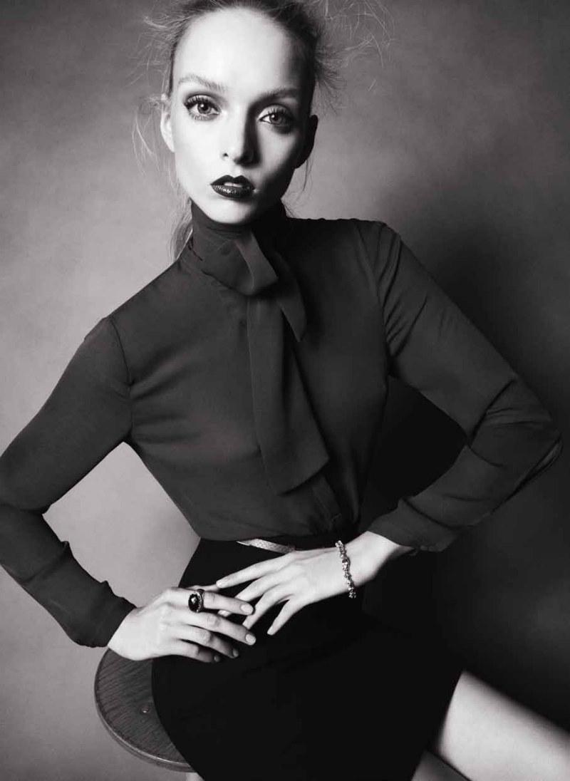 Benjamin Vnuk Lenses Sleek Style for Velvet Magazine Fall 2012
