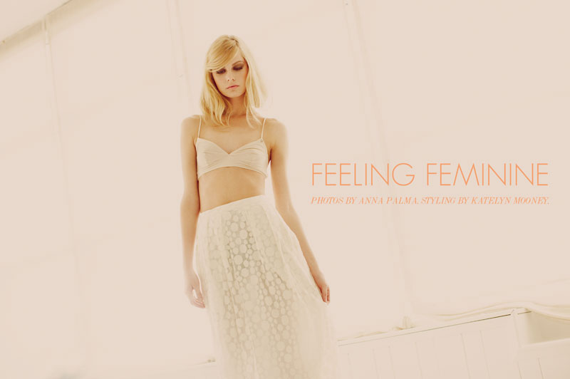 Kate by Anna Palma in 'Feeling Feminine' for Fashion Gone Rogue