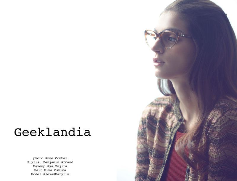 Alexa by Anne Combaz in 'Geeklandia' for Fashion Gone Rogue