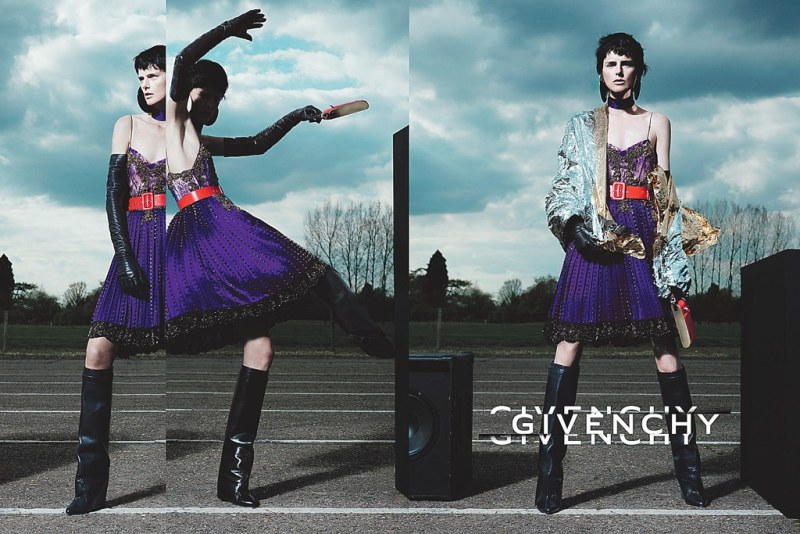 Stella Tennant Amps up the Volume for Givenchy's Fall 2012 Campaign by Mert & Marcus