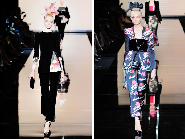 Armani Privé Fall 2011 Couture   Paris Haute Couture