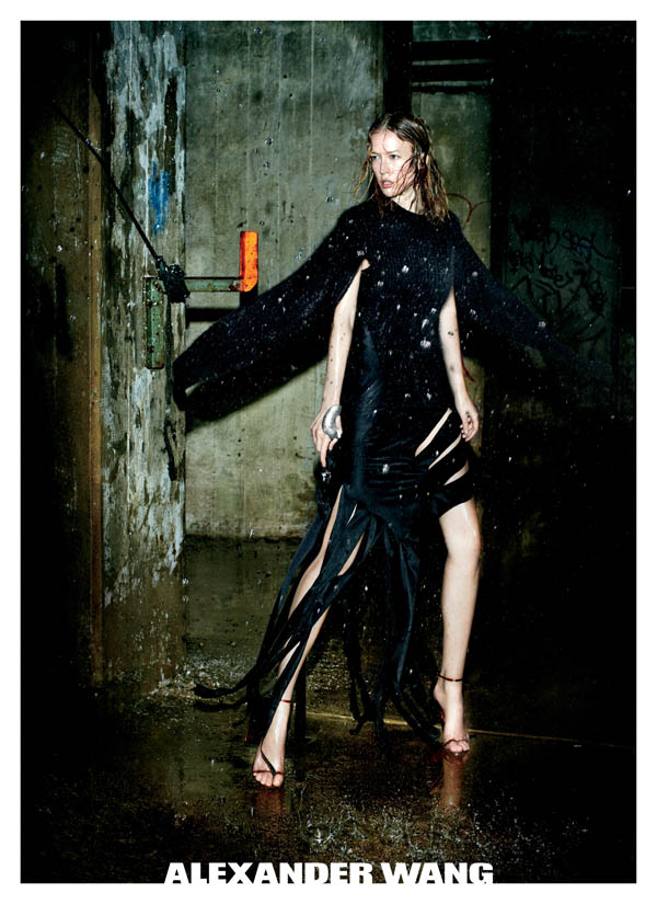 Alexander Wang Fall 2011 Campaign Preview | Raquel Zimmermann by Fabien Baron