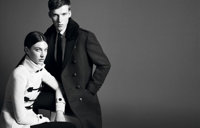 Jacquelyn Jablonski for Burberry Black Label Fall 2011 Campaign