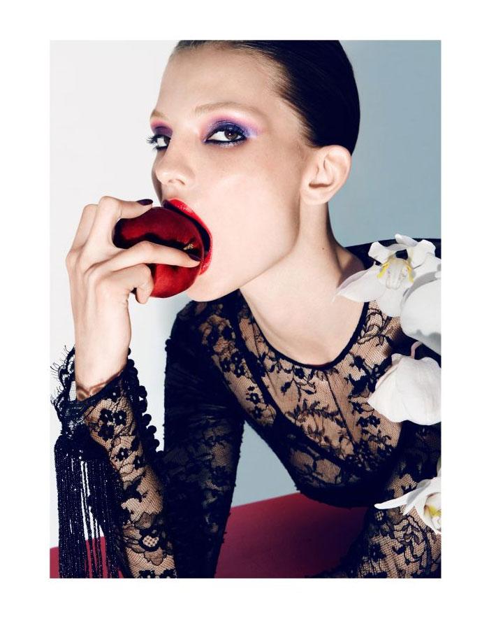 Carola Remer in Tom Ford for Vogue Germany September 2011