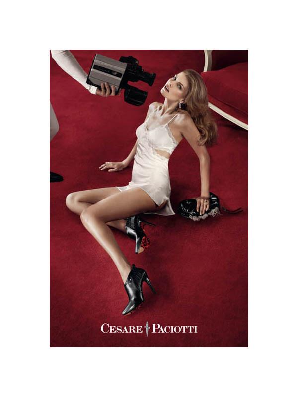 Cesare Paciotti Fall 2011 Campaign | Angela Lindvall by Sebastian Faena