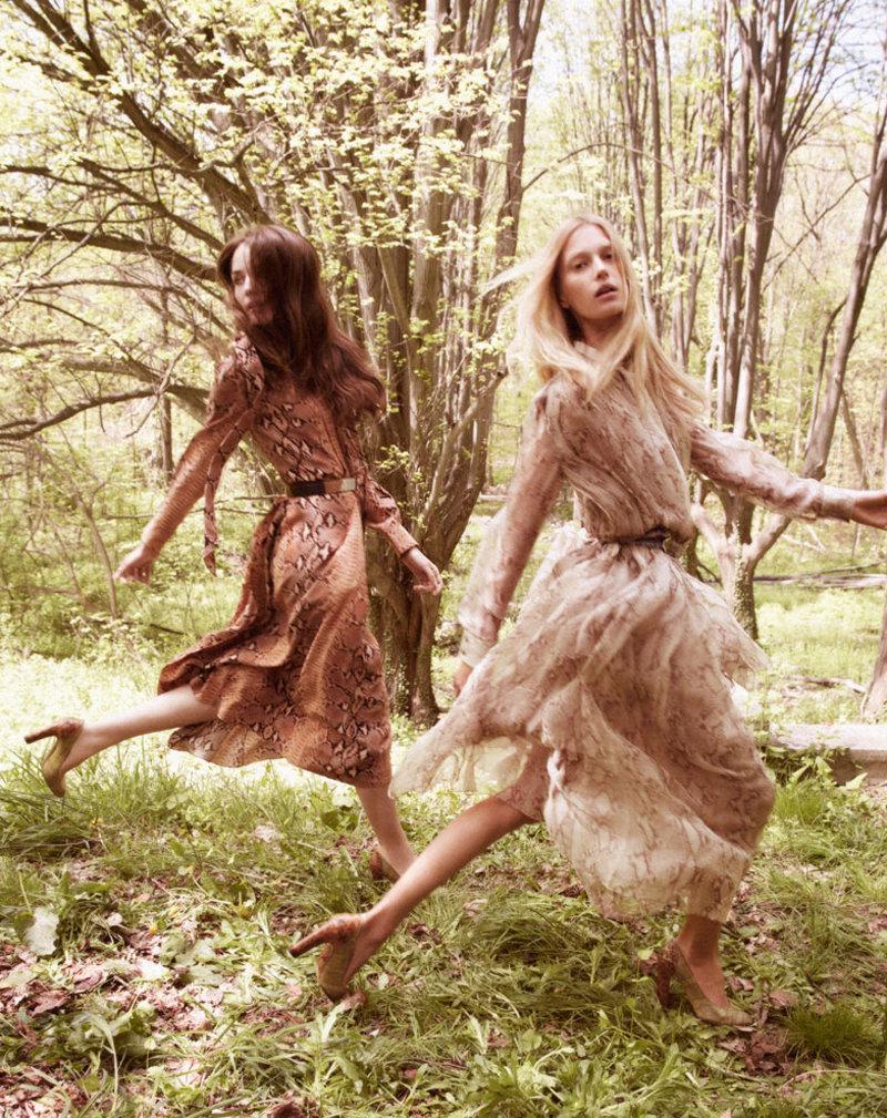 Chloe Fall 2011 Campaign | Sigrid Agren, Malgosia Bela, Arizona Muse & Zuzanna Bijoch by David Sims