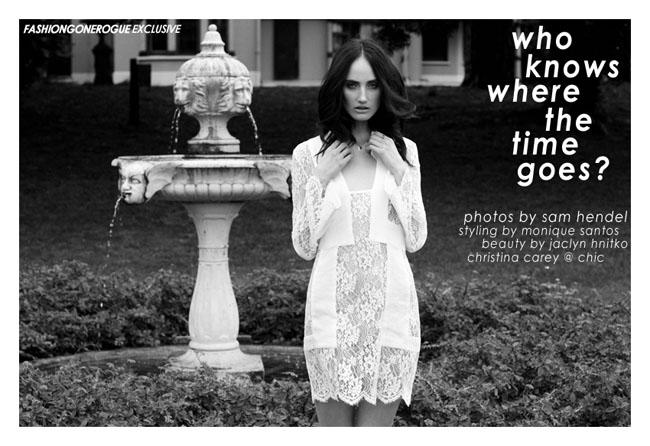 Christina Carey by Sam Hendel for Fashion Gone Rogue