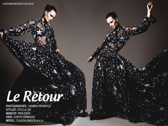 Claudia Mason by Hannah Khymych for Fashion Gone Rogue