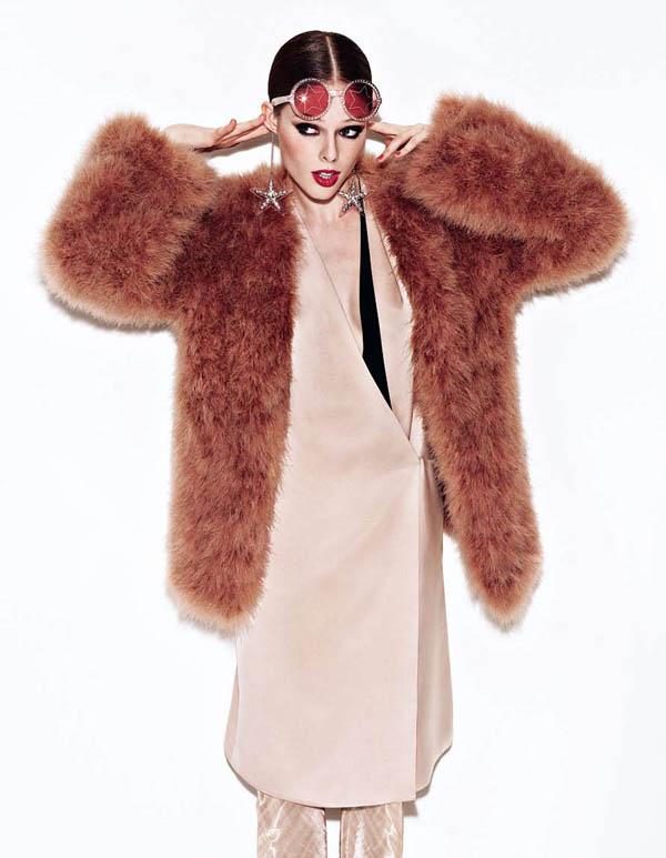 Coco Rocha by Matthias Vriens-McGrath for Elle UK August 2011