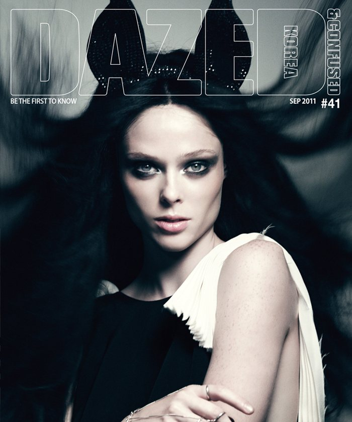 Coco Rocha Covers Dazed & Confused Korea September 2011