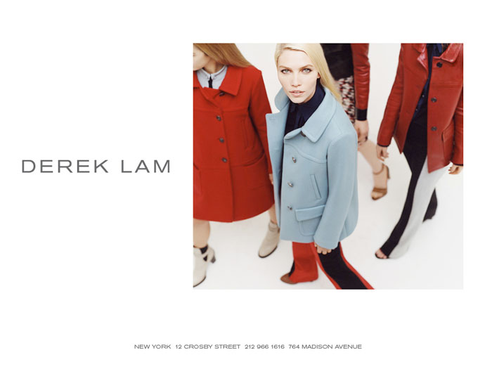 Aline Weber for Derek Lam Fall 2011 Campaign