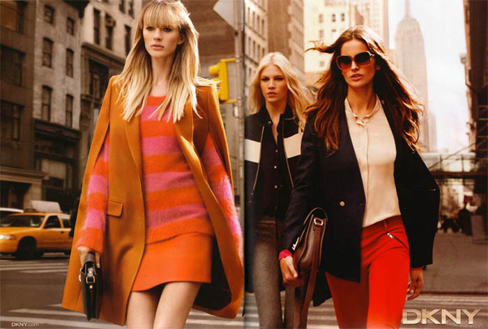 DKNY Fall 2011 Campaign Preview | Anne V, Izabel Goulart & Aline Weber by Inez & Vinoodh