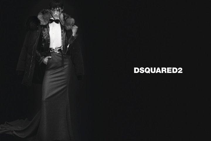 DSquared2 Fall 2011 Campaign | Saskia de Brauw & Emily Baker by Mert & Marcus