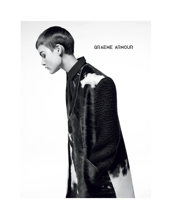 Nina Porter for Graeme Armour Fall 2011 Campaign by Amy Troost