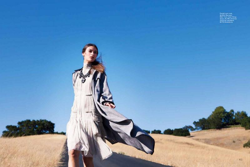Natalia Bogdanova by Della Bass for C Magazine September 2011