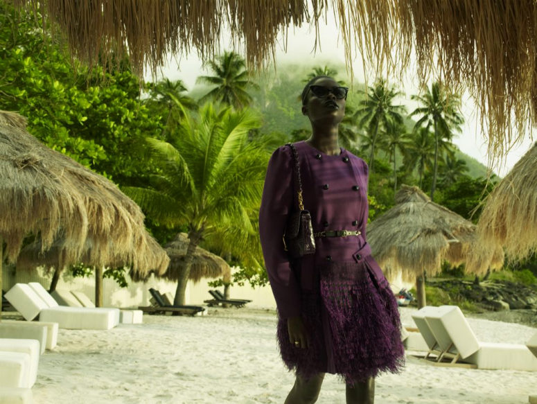 Jeneil Williams by Laurie Bartley for Elle US September 2011
