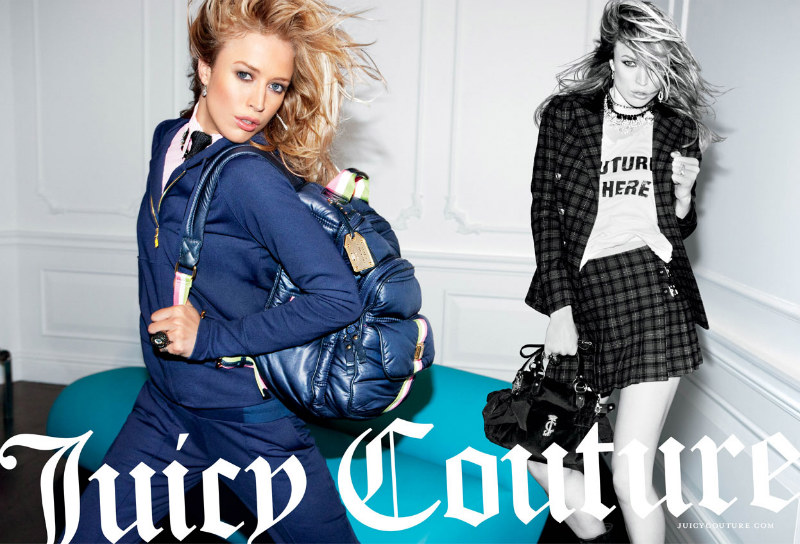 Juicy Couture Fall 2011 Campaign | Raquel Zimmermann by Inez & Vinoodh