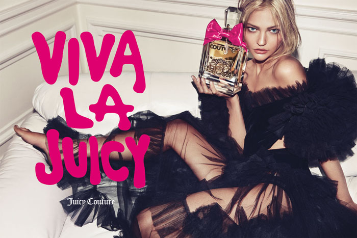 "Juicy Couture ""Viva La Juicy"" Fragrance Campaign | Sasha Pivovarova by Inez & Vinoodh"