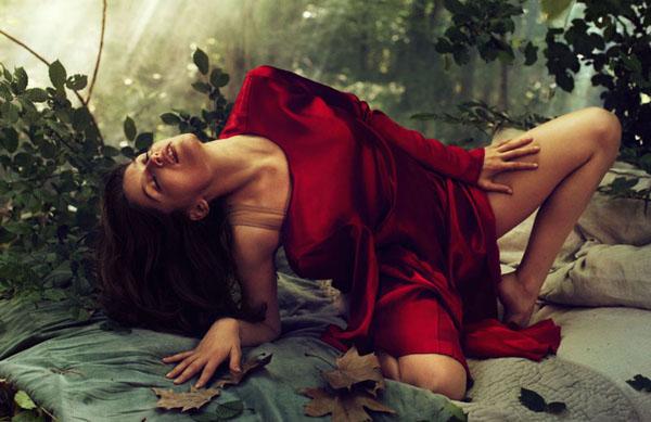 Laetitia Casta by Michelangelo di Battista for Elle France July 2011
