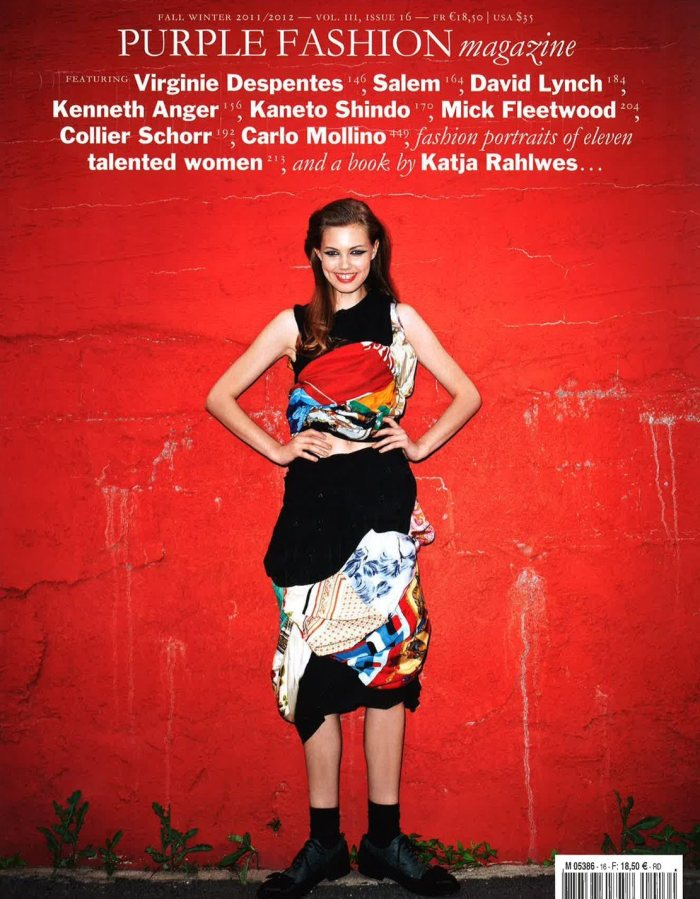 Purple Fashion F/W 2011 Cover | Lindsey Wixson by Terry Richardson