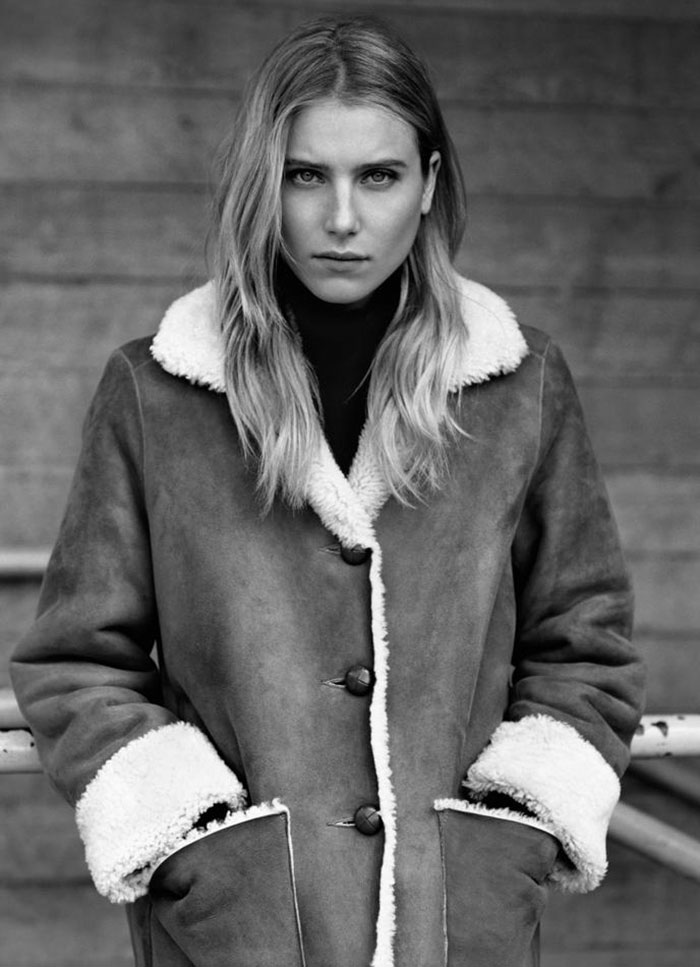 Margaret Howell Fall 2011 Campaign  | Dree Hemingway by Alasdair McLellan