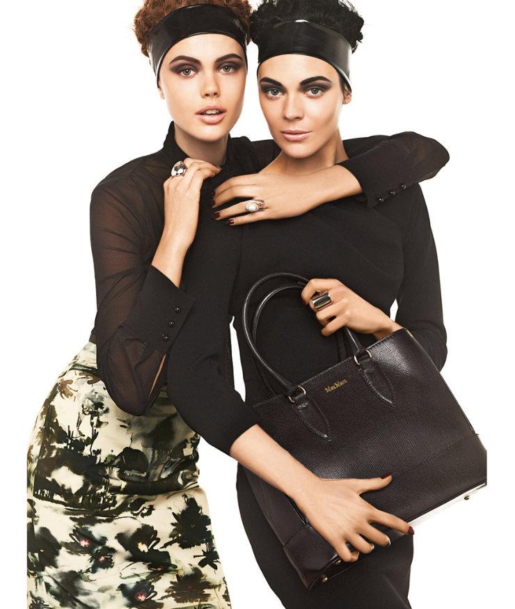 Max Mara Studio Fall 2011 Campaign | Frida Gustavsson & Kinga Rajzak by Giampaolo Sgura