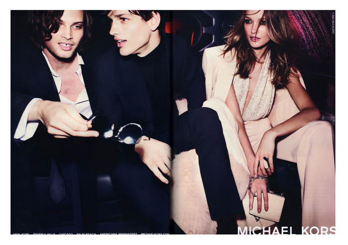 Michael Kors Fall 2011 Campaign Preview | Karmen Pedaru by Mario Testino